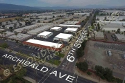 Property photos of retail and warehouse space located at Archibald Business Center, Montclair, CA 91763