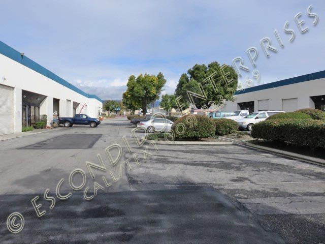 Ground level photos of multi-unit warehouse space located at 4671 & 4691 Brooks St, Montclair, CA, 91763
