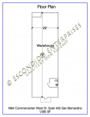 Commercenter, Floor Plan, Unit 405