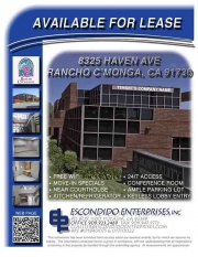 Brochure of 8325 Haven Ave, Rancho Cucamonga, CA, 91730