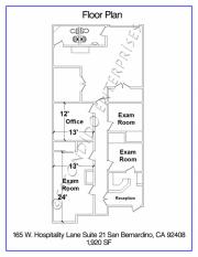 1Hospitality, Floor Plan, 165 - 21