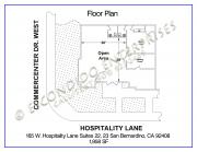 1 Hospitality, Floor Plan, 165 - 22, 23