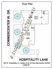 Hospitality, Floor Plan, 165 - 23, 24