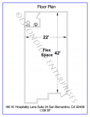 Hospitality, Floor Plan, 165 - 24