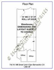 Floor Plan, 740-H