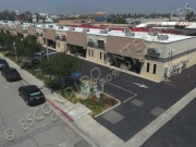 Aerial photo of 320 through 368, orange show lane, San Bernardino, CA 92408
