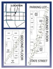 Escondido Enterprises, Brochure of multi-unit office space located at 127 E. State St, Redlands, CA 92373